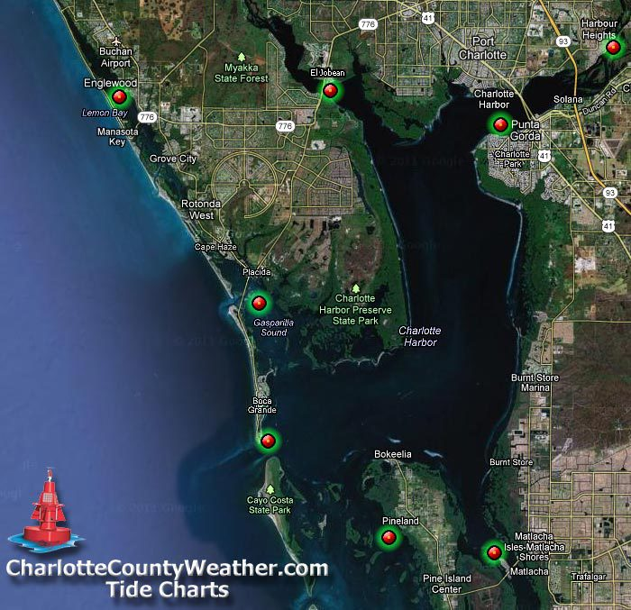 Charlotte County Weather, Radar, Conditions, Forecasts and Tides for Port Charlotte, Punta Gorda and the surrounding area. Live weather and Traffic Cams.